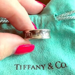 Tiffany & Co. 1837 Collection Sterling Silver Ring